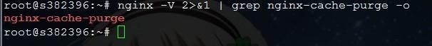 如果显示nginx-cache-purge即代表已安装